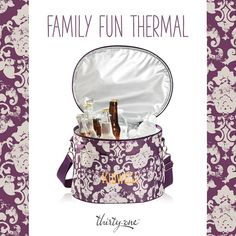 For soccer games, football games, or tailgates our Family Fun Thermal will keep your family full and free of thirst!