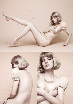 吉田ユニ。これいい。 | THE MIX Portrait Photo, Female Portrait, Photo Art, Beauty Photography, Fashion Photography, Fashion Graphic, Hair Designs, Pin Up Girls, Girl Photos