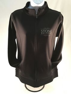 Stone Brewing Company Girly Sport Jacket Active Outerwear Zip Down Craft  Beer   #StoneBrewingCompany #GirlySportJacket