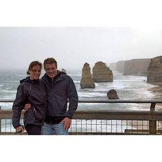 Io&Te qualche anno e bambino fa... #12apostles #12apostoli #greatoceanroad #australia by roby_nina http://ift.tt/1ijk11S