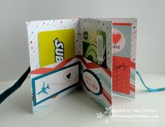 Gift Card Book- inside  GREAT IDEA FOR A SELECTION OF SMALL AMOUNT CARDS. VARIETY!