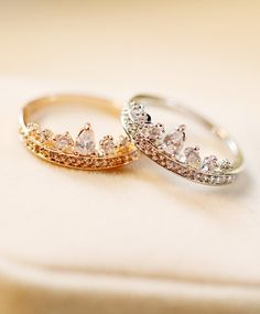 Princess Crown Ring