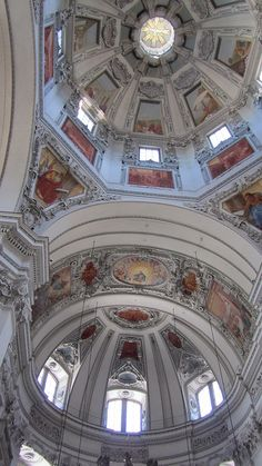 The Grand Cathedral in Salzburg, Austria