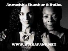 """Concha Buika colabora en el nuevo disco de Anoushka Shankar """"Traveller"""" en el tema: Casi Uno. http://www.buikafans.net"""