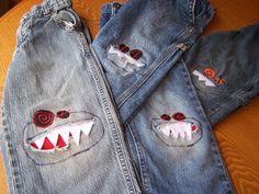 RAWR! Monster Jeans!