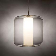 Iris Pendant Lamp By Viso Lighting - modern - pendant lighting - Surrounding - Modern Lighting & Furniture Suspended Lighting, Modern Lighting, Lighting Design, Lighting Ideas, Modern Light Fixtures, Modern Pendant Light, Light Fittings, Pendant Lamp, Pendant Lighting