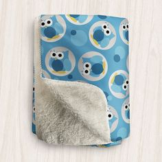 I wanted to share with you this Funny Cute Blue Owl Pattern Sherpa Fleece Throw? Do you like it?  | This owl Sherpa fleece throw is designed with a pattern of blue owls in white to light gray gradient circles over a blue background covered light and dark blue dots with a super soft Sherpa material on the other side. It will keep you cozy and warm while you snuggle up in it. It's available in 2 sizes so you can find the perfect fit for you. It's the perfect Sherpa fleece throw blanket for…
