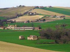Cingoli, Marche, Italy - Marche countryside in spring by Gianni Del Bufalo #destinazionemarche #marche - (CC BY-NC-SA 2.0)