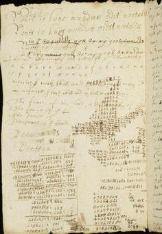 Isaac Newton's handwritten in Cambridge University Library (1)