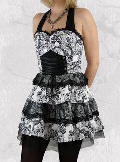 1178ccaa10363699dba1fe4277395dac skull clothes girl things robe courte rockabilly gothique hr london \