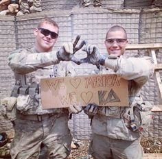 Even the troops love Kappa Delta. TSM.