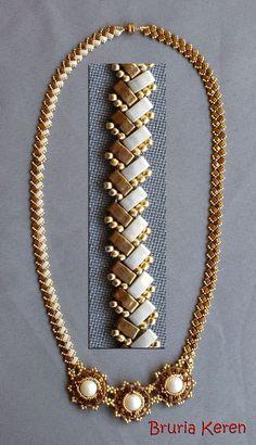 Beads Art Forum - Page 5 - Orange Forums Bead Jewellery, Seed Bead Jewelry, Jewelry Necklaces, Beaded Bracelet Patterns, Seed Bead Necklace, Beaded Necklace, Beaded Bracelets, Jewelry Crafts, Arts And Crafts