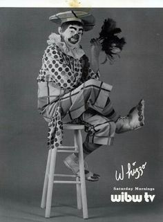 Whizzo the clown...if you were from the Kansas City area in the 50's you will have seen or heard of him. My sisters and I were on his TV show in the late 50's