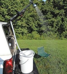 How to Make a Quick DIY 12-Volt Camp Shower