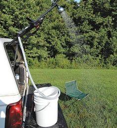 How to Make a Quick DIY 12-Volt Camp Shower