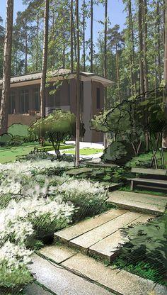 Gardens Garden Design Landscape Design Gardening Tuinen