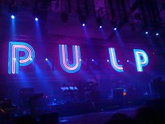 Seeing Pulp at Festering Hall with two wonderful friends.