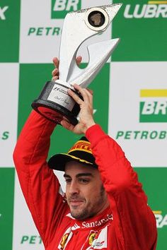 Fernando Alonso - voted season's best F1 driver. And he's adorable.