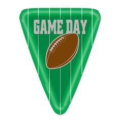 Game Day Football Lunch Plates