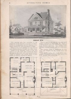 Design K 790 - from Attractive homes by Max L. Keith, Published 1912 192 p. ; ill., plans ; 26 cm. ; trade catalog