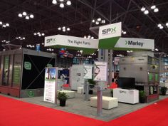 SPX Booth at AHR 2014 in NYC