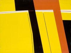 Windorf - Jaune, Orange, Noir #gallery #art #abstraction #paris #pfgarcier