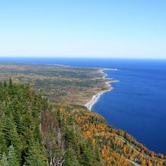 No.3 Gaspesie Tour..  Bonaventure Island, located near the famous Percé Rock, has a magnetic pull. In Forillon the road curves back westward through spectacular landscapes in the Saint Lawrence sea and on top of Sainte-Anne-des-Monts.
