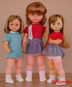 Las Muñecas de Salyperla: Novedad del día: Mis tres Tressys de Novo Gama, especialmente para Araceli Zapata