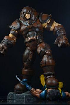 Ultimate Alliance Juggernaut Custom Figure (Ultimate Marvel) Custom Action Figure