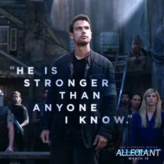 After the earth-shattering revelations of INSURGENT, in ALLEGIANT Tris [Shailene Woodley] must escape with Four [Theo James] beyond the wall that encircles Chicago to finally discover the shocking. Divergent Memes, Divergent Fandom, Divergent Trilogy, Divergent Insurgent Allegiant, Insurgent Quotes, Divergent Dauntless, Divergent Theo James, Tris And Tobias, Tris And Four