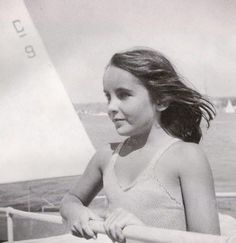 Very Young Liz On A Boat--who could not no those eyes. Description from pinterest.com. I searched for this on bing.com/images