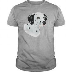 Cool Dalmatian Dog Young Womens TShirts  Womens Performance TShirt T-Shirts