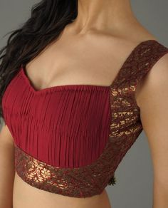 Cocktail saree blouse designs saree blouse design
