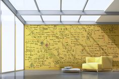 Clear Dry Erase Paint - make any wall of any color into a dry erase board! definitely doing this.