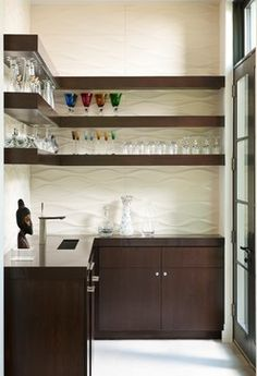 Modern Wet Bar Desig