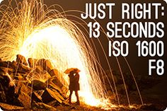 paint with light  -steel wool fire - cool effect takes less than $10 in supplies, no photoshop
