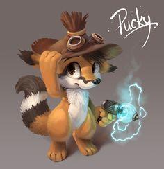 Pucky by Silverfox5213 on deviantART