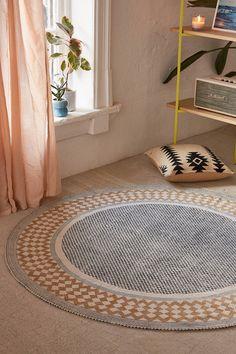 Smart Electronics Responsible Luda Geometric Flower Floor Carpet Rugs Nordic Style Children Carpet Living Room Tea Table Soft Bedroom Mat Non-slip Round Dec