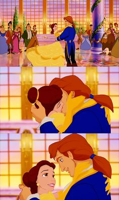 Ahh, Belle and Adam are perfect for each other