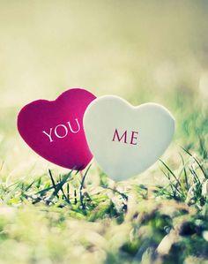 love is......... u & me <3