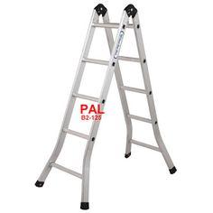 Thang nhôm chữ A PAL B2-125 ✓ Thang gấp 2 đoạn PAL Đài Loan B2-125 ✓ LH 0944746879 để có giá tốt