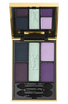 Beautiful palette of mint, purple, and navy http://rstyle.me/n/mq8kvnyg6