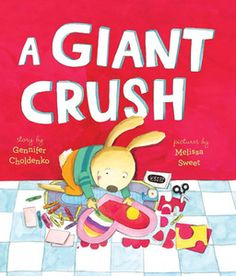 "Read ""A Giant Crush"" by Gennifer Choldenko for free via @WeGiveBooks. http://www.wegivebooks.org/books/a-giant-crush (Ages 4-7) #ValentinesDay #friendship #prek #kindergarten #childrensbooks"