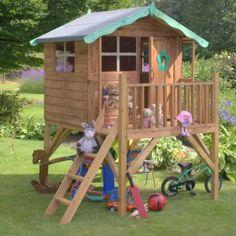 diy playhouse | Regarding Children's Playhouses Building a wooden playhouse for the ...