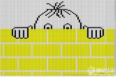 Funny Kids Sweater for a Boy Funny Kids Sweater for a Boy Baby Knitting Patterns, Baby Cross Stitch Patterns, Cross Stitch Baby, Knitting Charts, Knitting For Kids, Crochet For Kids, Knitting Designs, Cross Stitch Embroidery, Baby Outfits