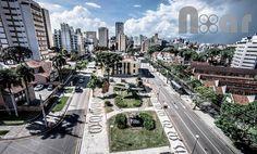 Praça do Expedicionário - Foto: Curitiba NoAr - Vídeos e Fotos de Curitiba sob um novo ângulo