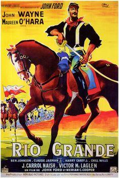 1868. Le colonel Yorke (John Wayne) commande un petit fort au Texas non loin de la frontière mexicaine représenté à cet endroit par le Rio Grande. Son régiment doit faire face aux raids incessants…
