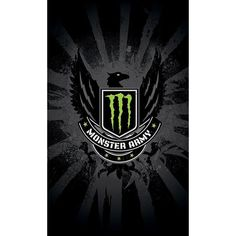 Monster Energy Drink Army Sign Flag Banner Plate Poster Bar Pub Background 3x5ft #Unbranded