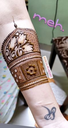 Best 12 this is Beautiful Bridal Arm Mehndi Design For brides – SkillOfKing.