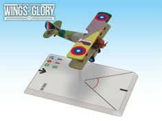 Wings of Glory: SPAD XIII Rickenbaker by Ares. $11.54. in each pack you will find all you need to play with the airplane: a special base with gaming stats, a variable altitude flying stand, and a specific deck of maneuver cards.. Designed to be used with the popular air combat game system created by Andrea Angiolino and Pier Giorgio Paglia, each WW1 Wings of GloryTM Airplane Pack is a ready-to-play model, painted and assembled, 100% compatible with any other W...